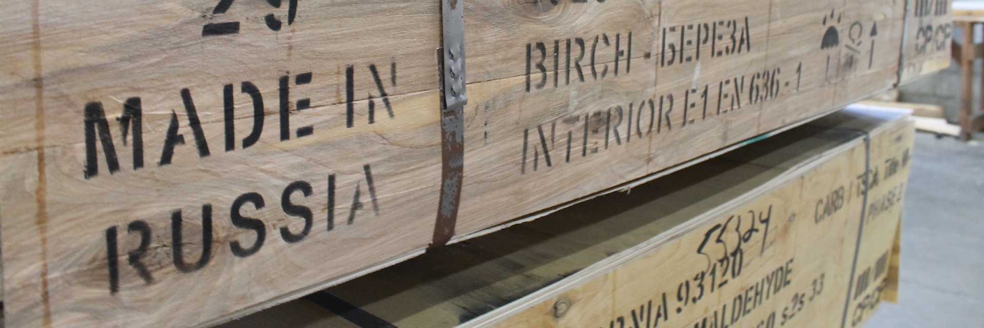 Sheet Goods » Imported Plywood | Boehm-Madisen Lumber